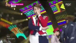 bad mama jama (141206 music core) - bigflo