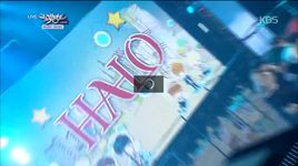 come on now (141205 music bank) - halo