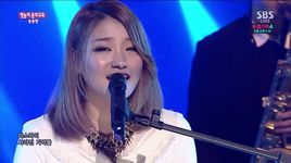the first snow's falling (141207 inkigayo) - sonnet son