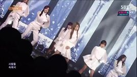 luv (141207 inkigayo) - a pink