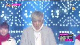 sweet love (141207 inkigayo) - baek chung kang