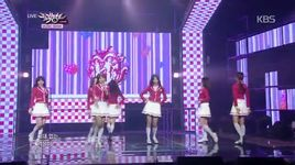 candy jelly love (141205 music bank) - lovelyz