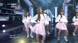 luv (141205 music bank) - a pink