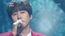 at close (141212 music bank) - kyu hyun (super junior)