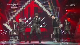 i'm not a boy, not yet a man (141212 music bank) - cross gene