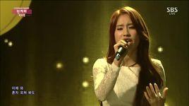 fallin' (141214 inkigayo) - park soo jin