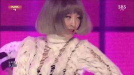 mama (141214 inkigayo) - nicole jung
