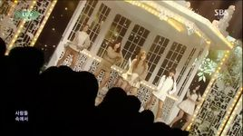 luv (141214 inkigayo) - a pink