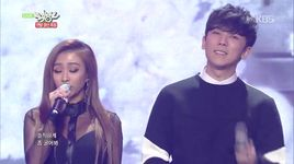 some & erase (141219 music bank) - so you (sistar), hyorin (sistar), junggigo