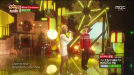 white christmas (141220 music core) - hyorin (sistar), joo young