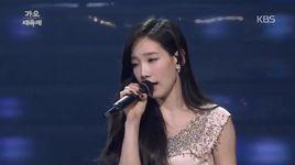 like a star (kbs gayo daejun 2014) - tae yeon (snsd), hwanhee