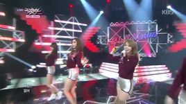 wiggle wiggle (150102 music bank) - hello venus