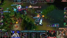 no .1 jungle - ssw dandy highlights worlds 2014 - dang cap nhat