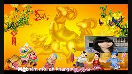 ngay xuan long phum sum vay (lyrics, kara) - v.a