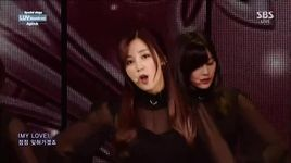 luv (150104 inkigayo) - a pink