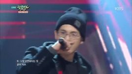 fire (150116 music bank) - mad clown
