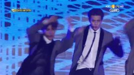 overdose & lucky (150122 seoul music awards) - exo