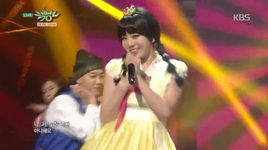 not an easy girl (150123 music bank) - lizzy (after school)
