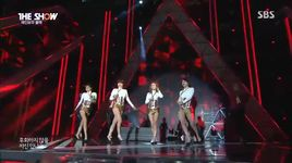 cha cha (150108  the show) - rainbow blaxx