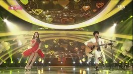 that one (150125 inkigayo) - song ji hyo, hee chul (super junior)