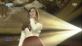 cry again (150125 inkigayo) - davichi