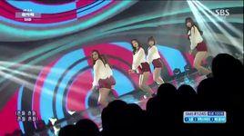 up & down (150125 inkigayo) - exid