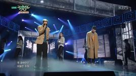 just (150206 music bank) - zion.t, crush