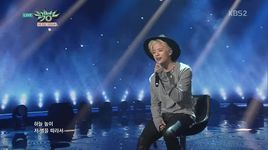 beautiful (150213 music bank) - amber f(x)