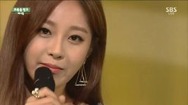 child in time (150208 inkigayo) - sunny hill