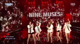 drama (150215 inkigayo) - nine muses