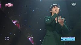 one fine day (150215 inkigayo) - yong hwa (cnblue)
