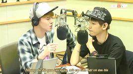 130916 emergency room @ kiss the radio (vietsub) - baek hyun (exo), chen (exo)