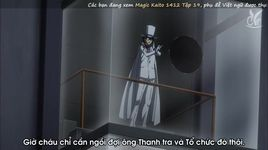magic kaito 1412 tap 19: mat vang (phan hai) kid vs chat noir - tro choi ket thuc - v.a