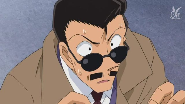 Detective Conan The Fugitive Kogorou Mouri - Image 2