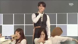growing pains (150322 inkigayo) - eun hyuk (super junior), dong hae (super junior)