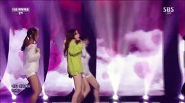 i am a woman too (150405 inkigayo) - min ah (girl's day)