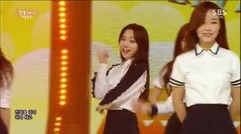 hi (150405 inkigayo) - lovelyz