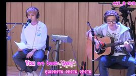 love song (130808 youngstreet) - chan yeol (exo-k), baek hyun (exo-k)