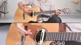 guitar - huong dan my everything - tien tien - tien tien