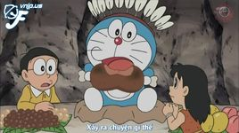 doraemon tap 362: dai vuong thoi do da - danh bat co ca chep - doraemon