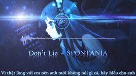 don't lie (vietsub) - spontania