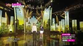 garosu-gil at dawn (150404 music core) - baek ji young,