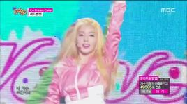 ice cream cake (150404 music core) - red velvet