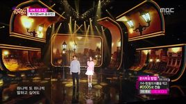 garosu-gil at dawn (150411 music core) - baek ji young, song yoo bin