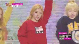 ice cream cake (150411 music core) - red velvet