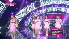 eighteen (150502 music core) - clc