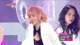 into you (150509 music core) - hyo sung (secret)