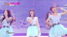 because of you (150321 music core) - berry good