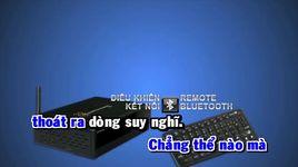 the gioi ao tinh yeu that (karaoke) - trinh dinh quang