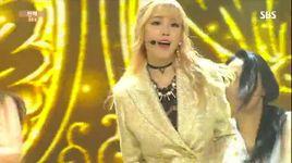 into you (150607 inkigayo) - hyo sung (secret)